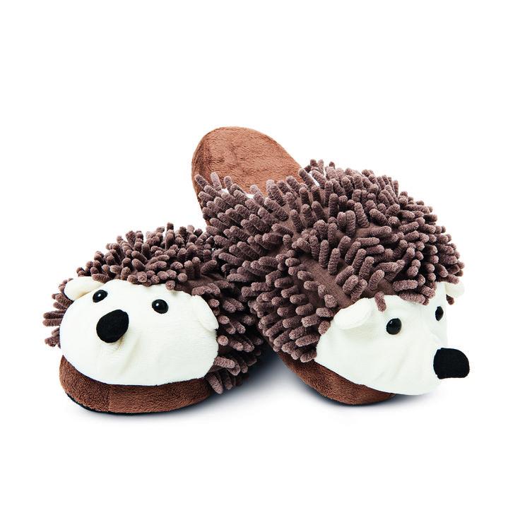 Kapcie #slippers #hedgehog