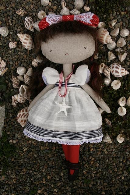 Linen doll.