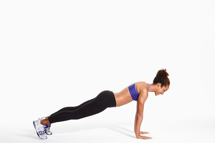 An interesting ladder workout with just two exercises: push-up/mountain climber and deck squat!