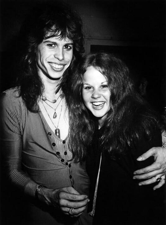 Steven Tyler and Linda Blair