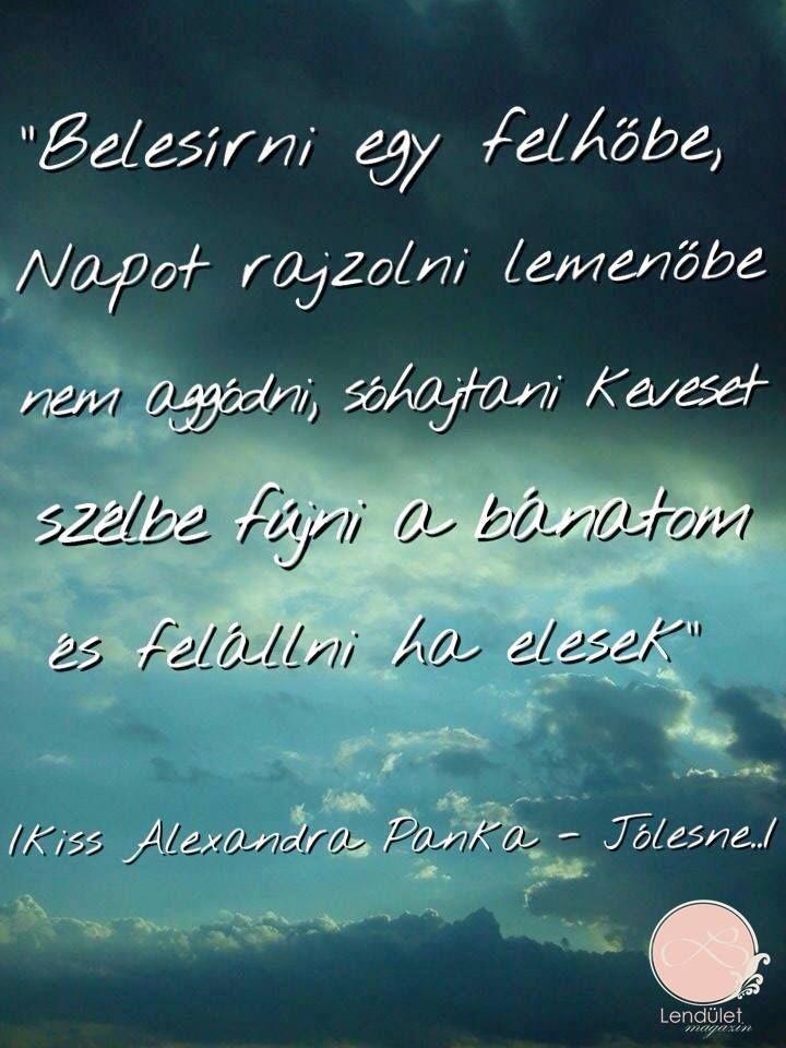 Kiss Alexandra Panka #lendületmagazin #blogger #cikk #idézet