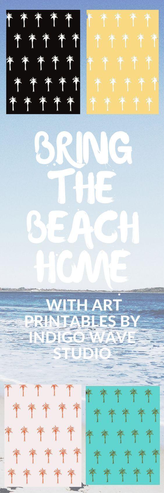 Get art printables by Indigo Wave Studio on Etsy, digital downloads, graphic design, illustration, home decor