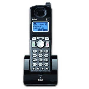 RCA -A DECT 6.0 Accessory Handset for RCA 2 Line Cordless Phone Model 25255RE2, 25210RE1 & 25250RE1 by RCA. $59.95. ***Please Note***: This model can be used with the 25255RE2, 25270RE3, 25210RE1 and 25250RE1 only. Features: RCA cordless accessory handset DECT 6.0 technology 2-Line Expandable up to 10 handsets Compatible with the 25255RE2, 25210RE1 and 25250RE1 Call waiting caller ID with 99 name and number log Handset speakerphone 99 Name and number directory Do not d...