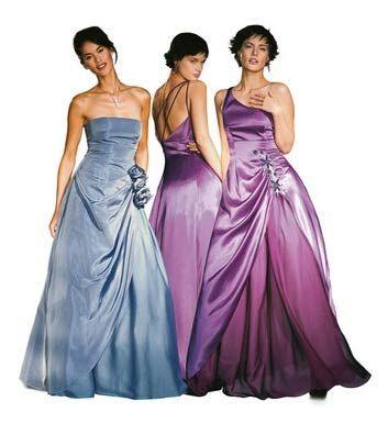 suknia wieczorowa #Burda
