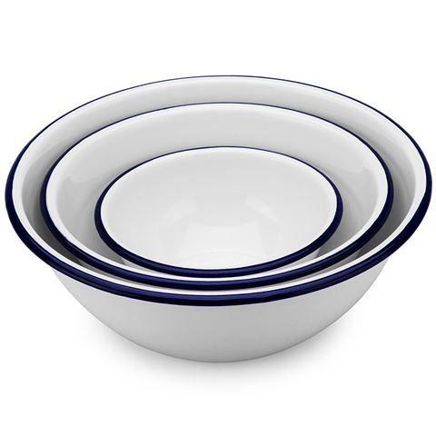 Falcon - White mixing bowls