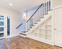 Stairs into the basement.
