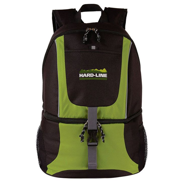The Bag Factory Lime Green Backpack Cooler