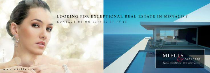 Affiche pour l'agence immobilière Miells & Partners