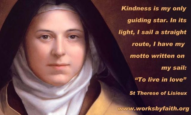 Catholic News World : Catholic #Quote to SHARE by #StTherese of Lisieux ...