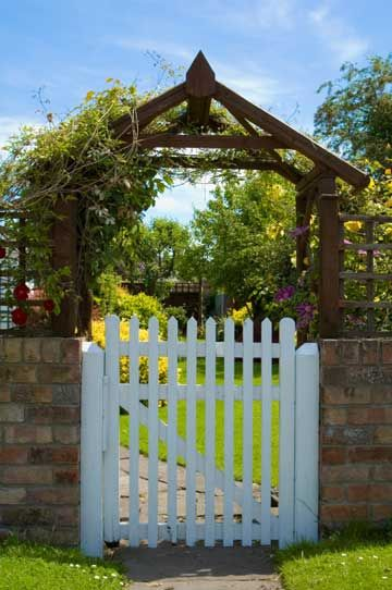 Building a Long Lasting Gate: Whether you're building a gate for a wooden privacy fence or building a swinging gate for livestock fencing, there are some basic, but important, things to remember when you're designing and building a gate. Follow these tips to make your gate last longer and reduce maintenance.