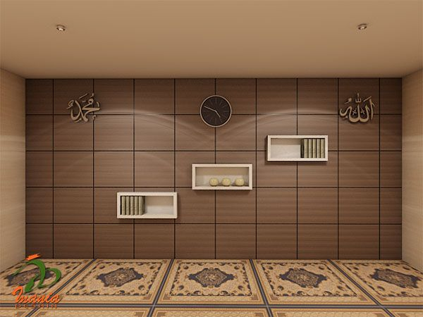 10 best mushola images on pinterest prayer room mosque for Dekorasi rumah minimalis