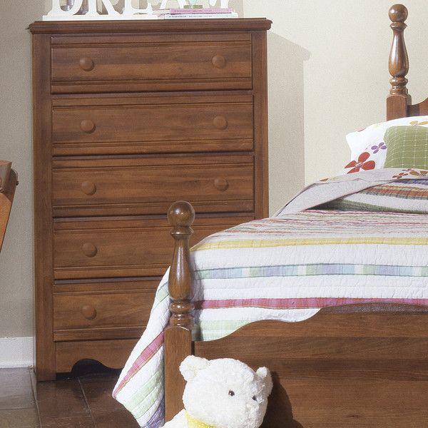 Carolina Furniture Works, Inc. Crossroads 5 Drawer Chest U0026 Reviews | Wayfair