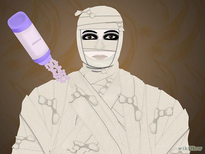 fabriquer un costume de momie costumes de momie et d guisements. Black Bedroom Furniture Sets. Home Design Ideas