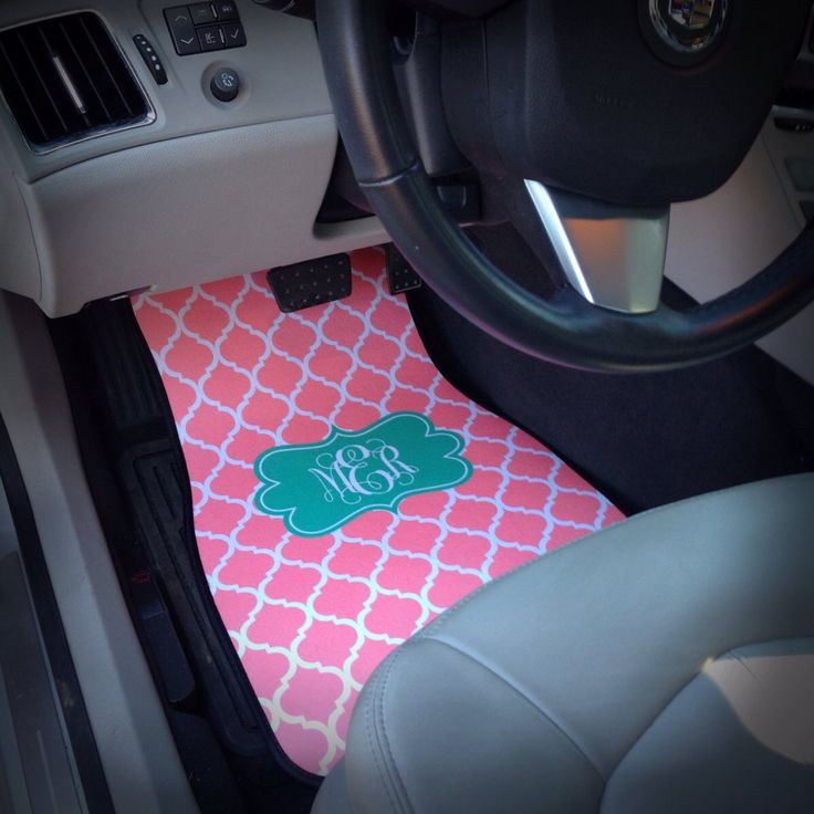 New to SassySouthernGals on Etsy: Monogrammed Car Floor Mats Monogrammed Car Accessories Monogrammed Gift Personalized Car Mats Personalized Gift (45.00 USD)