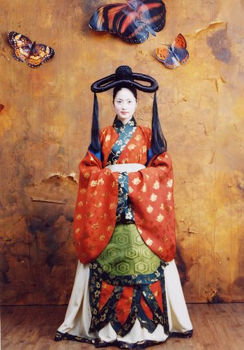 Korean Clothes of Goguryeo(BC37-AD668) #고대의복 #hanbok