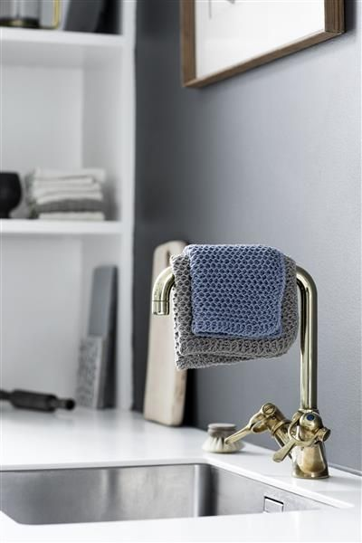 T44: Design 1 Klut i nettpatent #bomull #cotton #strikk #knit #klut #washing
