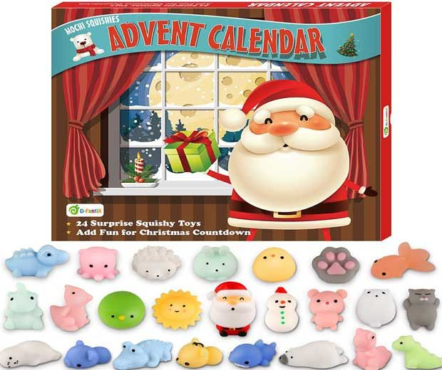 Squishy Advent Calendar Toy Released Favorite For 2019 Toy