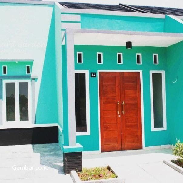 Ide Warna Cat Rumah Minimalis Biru Langit Dengan Konsep ...
