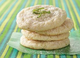 Lemon Cooler Cookies Made With Cake Mix