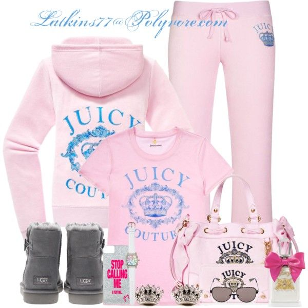"""Juicy Couture"" by latkins77 on Polyvore"