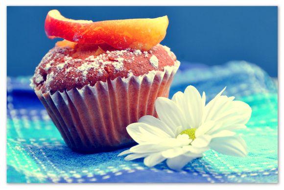 #Cupcakes alla pesca #Spring #Muffin #food #dolci #Pesca #peach #tea