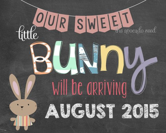 Easter Pregnancy Announcement Printable
