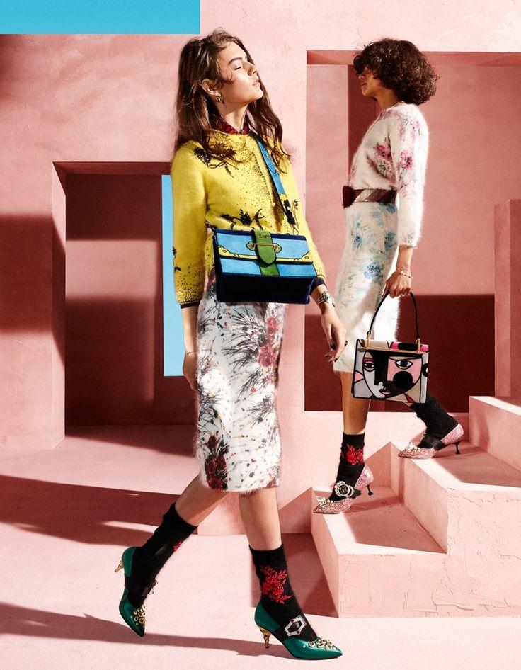 don't miss Vogue Japon Juin 2017 Marie Damian, Regan Garrett et Tandi Reason Dahl de Lacey