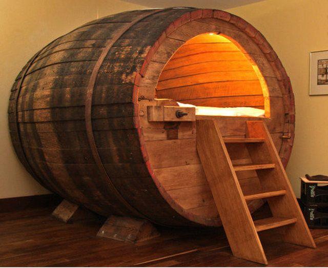 beer barrel bed-The best beer hotels abroad
