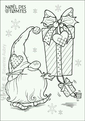 nisse coloring pages - photo#5