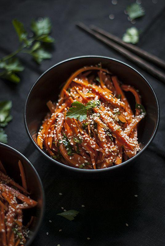 Korean Carrot Slaw