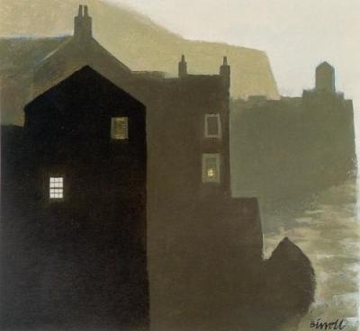 Early Morning Harbor by George Birrell