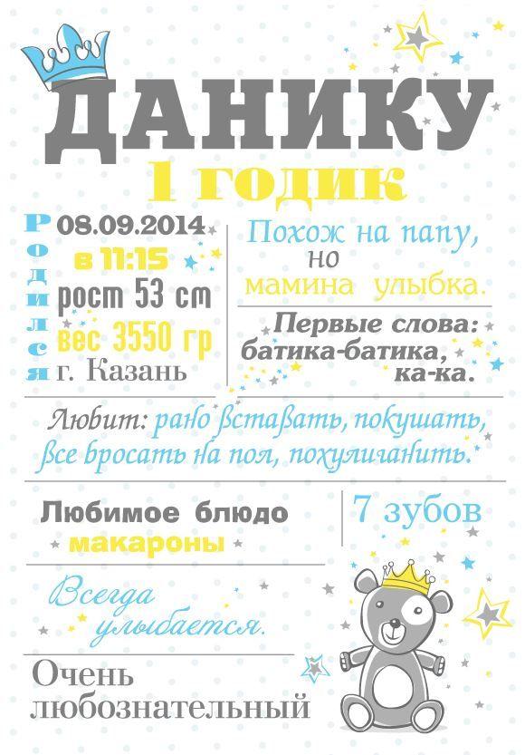 chalkboard print постер плакат в детскую комнату мои достижения на день рождения Наш #плакатдостижений #ChalkboardPoster