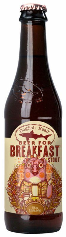 Review : Dogfish Head Beer for Breakfast