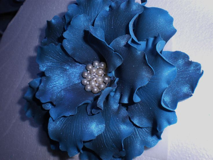 Fantasy in Blue made from Flexi Paste