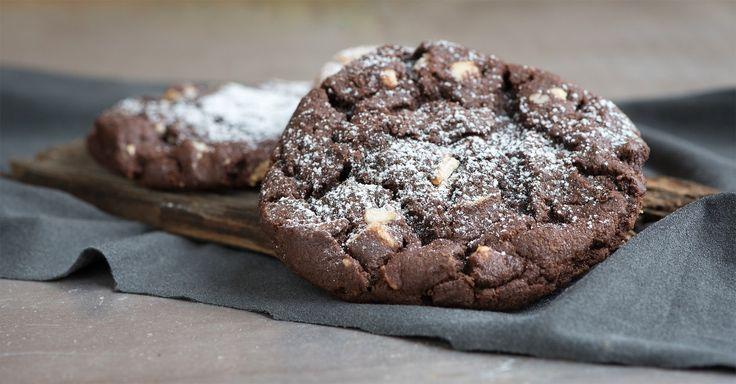 Heerlijke chocoladekoekjes met avocado en cacao. Lekker om (verantwoord) van te snoepen! | koolhydraatarme recepten | Makkelijk Afvallen