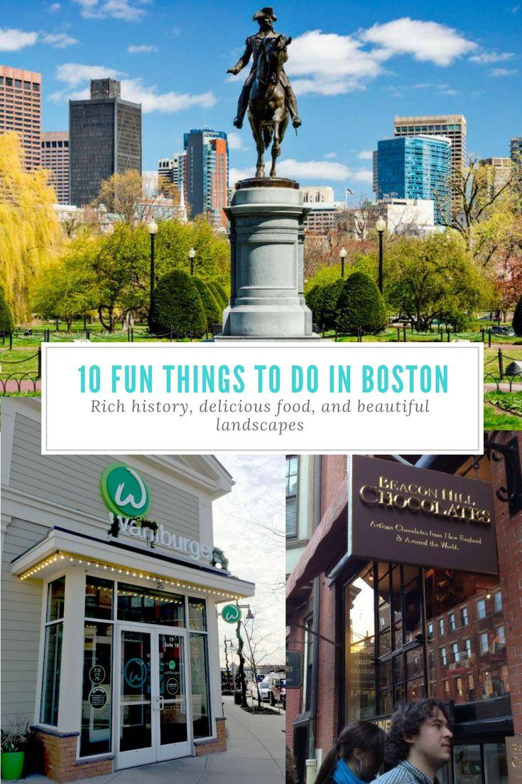 10 Fun Things to Do in Boston