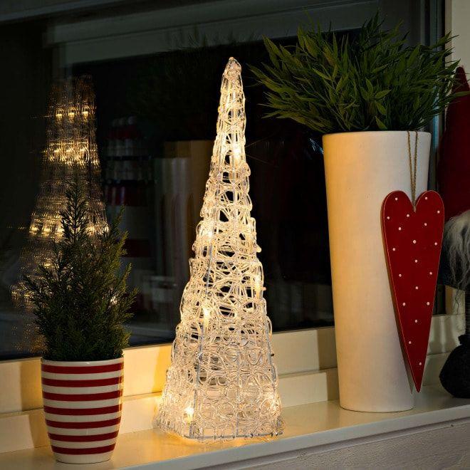 Led Acryl Pyramide 32 Warmweisse Dioden Mit Dieser Wunderschonen Und Edlen Led Acryl Pyramide Zaubern Sie Ganz Ei Led Weihnachtsbeleuchtung Led Lichterkette