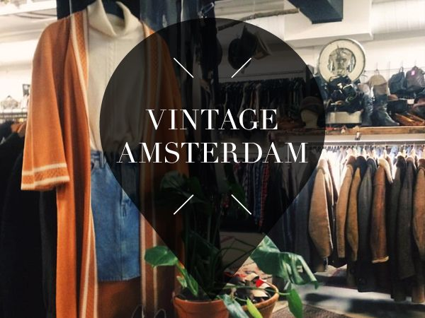 Looking for a unique item? Visit these cool vintage shops in Amsterdam. We listed the about 14 coolest vintage stores in Amsterdam you don't want to miss!