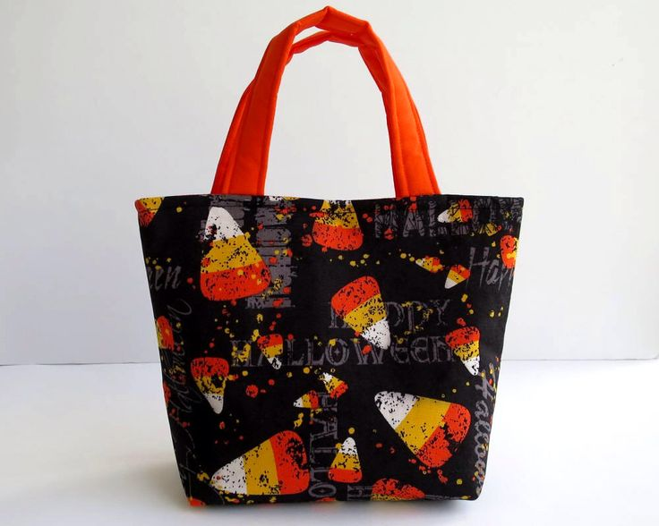 Halloween Bag, Halloween Tote, Trick or Treat Bag, Halloween Costume, Kids Halloween Bags, Candy Bags, Halloween Gifts, Candy Corn by RachelMadeBoutique on Etsy https://www.etsy.com/au/listing/558362869/halloween-bag-halloween-tote-trick-or