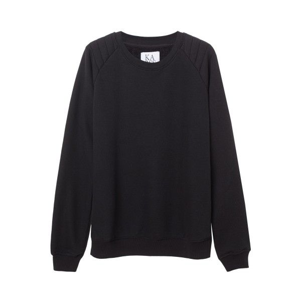 BASIC LOOSE FIT SWEATER (1,945 MXN) via Polyvore featuring tops, sweaters, loose fitting sweaters, loose fitting tops, cut loose tops, loose fit tops y loose fit sweater