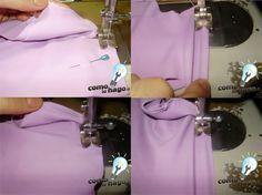 """¡Hola chicos! No siempre es sencillo coser con telas elásticas, por lo que en este tutorial les enseñaremos a hacer un leotardo con tela de lycra. Toda la información, como siempre, después del salto. Las fábricas utilizan unas máquinas que se llaman """"collareteras"""" que son especiales para este tipo de trabajo, ¡pero no…"""