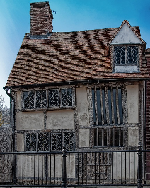 Dickens Cottage, Hastings, England - A medieval Grade II listed period cottage built circa 1400