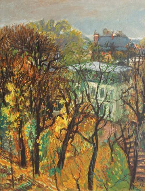 Iosif Iser (21 May 1881 — 25 April 1958; born and died in Bucharest) was a Romanian painter and graphic artist. Autumn in Bucharest.
