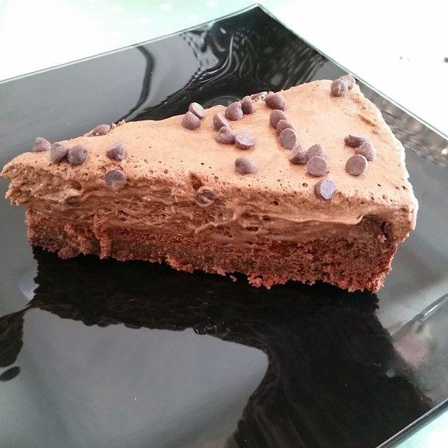 Matmomsens allergifrie kjøkken: Sjokolademoussekake. (med egg)