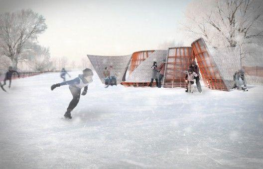 Warming Huts v.2013 Proposal / Lateral Office