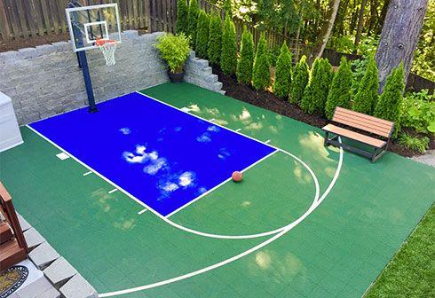 backyard sports big backyard backyard ideas outdoor basketball court