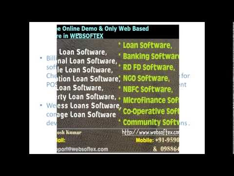 Loan Software, Co Operative, Microfinance Software, Banking Software, RD...