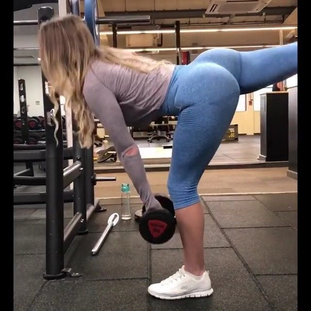 ALL HAIL THE BOOTY GAINZ . Pump up your peach with these:- 1️⃣ banded jumping squat (part of activation) - AMRAP x 2 sets  2️⃣ wide stance sumo deadlifts - 10 reps x 4 sets  3️⃣ weighted squat into good morning - 10 full reps x 4 sets  4️⃣ 5 pulse squats - 8 reps x 3 sets  5️⃣ dumbbell paused squats - 10 reps x 4 sets  6️⃣ one leg deadlift - 10 reps on each leg x 3 sets  7️⃣ hip thrusts - 10 reps x 3 sets  I also did heavy leg press 15 reps x 3 sets . Give it all a go, you'll LOVE it  . ....