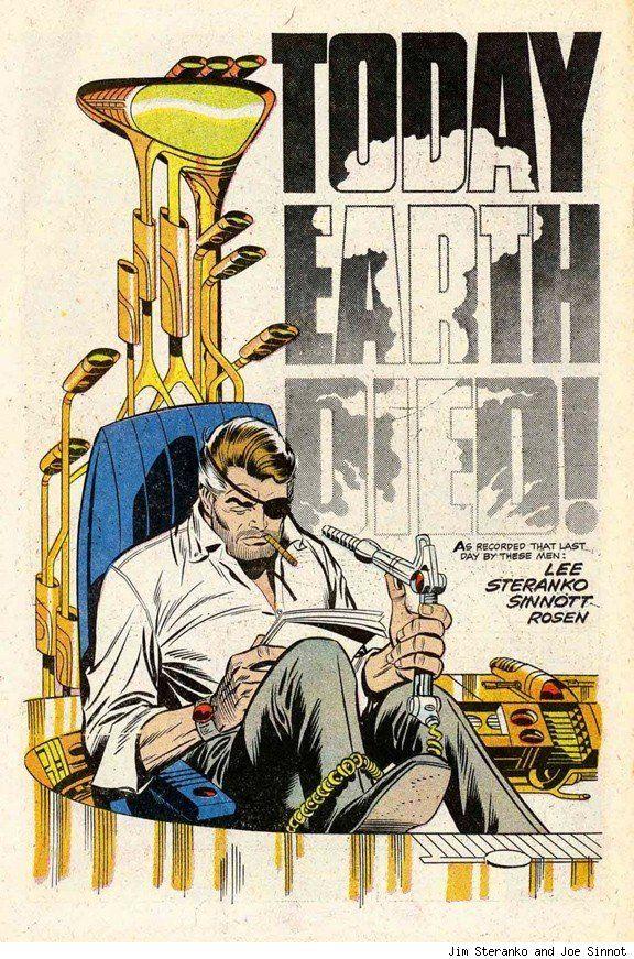 Nick Fury by Jim Steranko and Joe Sinnot