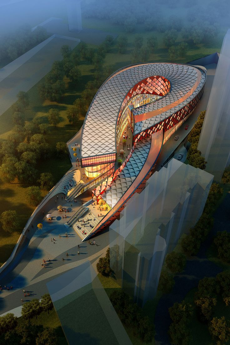 Sunlay Design Group's Folklore-Inspired Retail Center Will Soon Rise in China,Courtesy of Sunlay Design Group